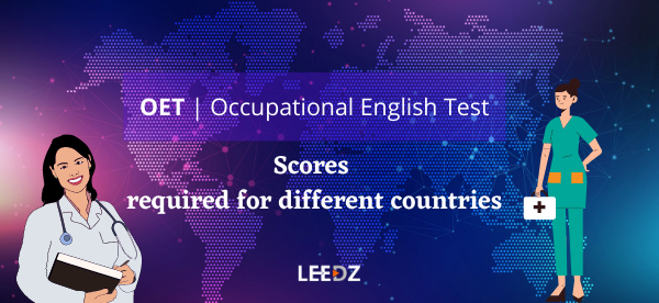 oet scores for different countries